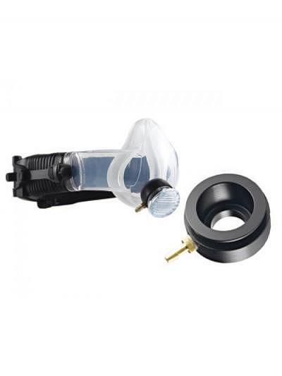 CleanSpace™ Half Mask Adaptor for Quantitative Fit (Portacount) Testing